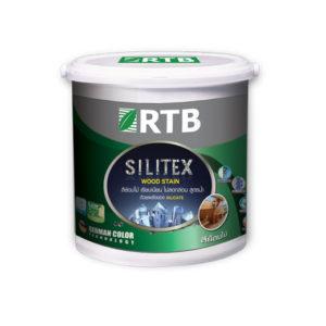สีย้อมไม้ สูตรน้ำ silitex wood stain rtb